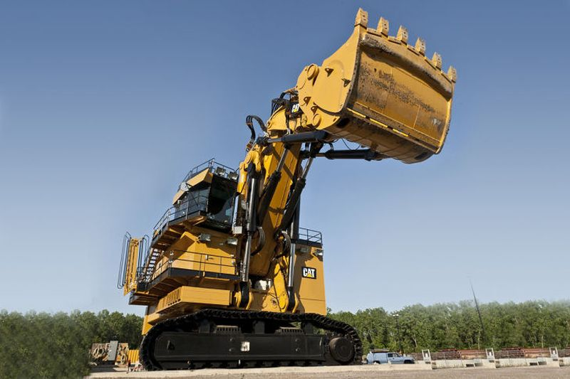 מחפר קטרפילר 6120B H FS