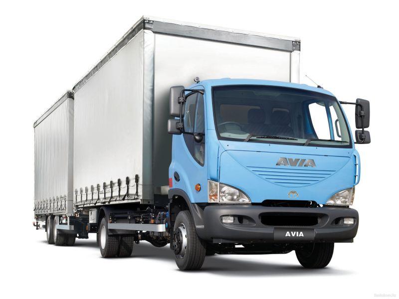 משאית Avia