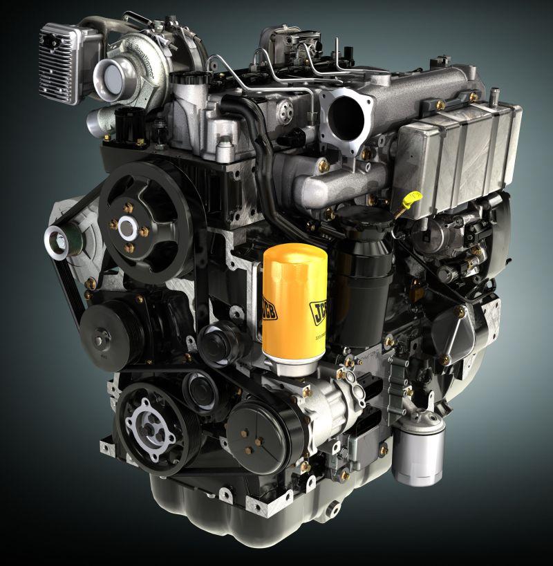 מנוע ה-EcoMax החדש של JCB