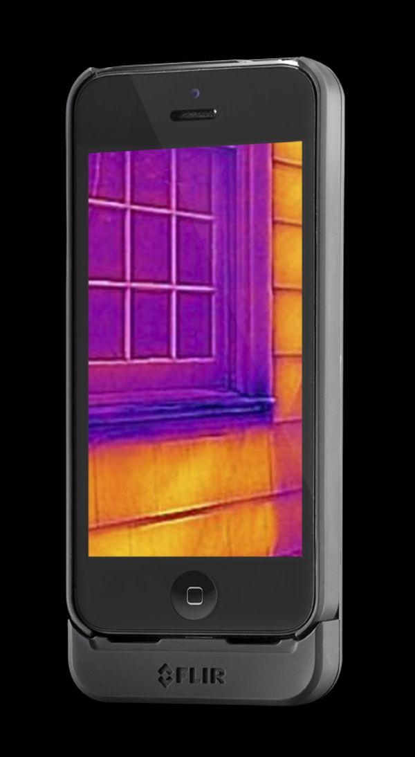 Flir One - מצלמה תרמית להתקנה על iPhone
