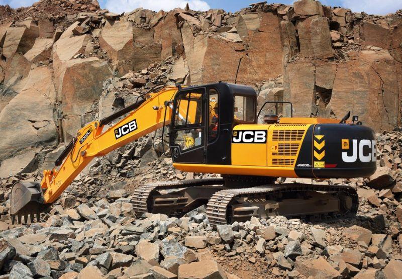 מחפר ג'י.סי.בי. JS205LC החדש – מיוצר בהודו בראש ובראשונה עבור השוק המקומי