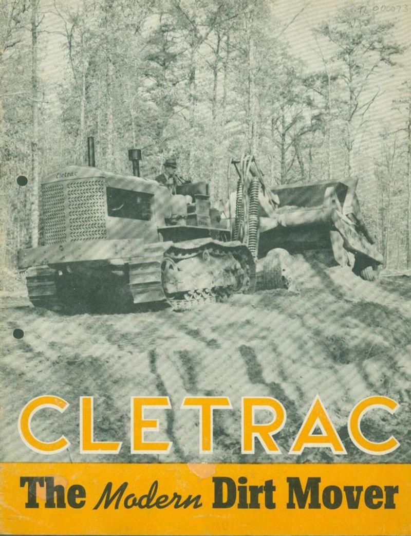 """הפרוייקט הבא כבר בקנה: טרקטור הזחלילי Model F מתוצרת Cletrac שיוצע בקנ""""מ של 1:16 ובמחיר שטרם פורסם"""