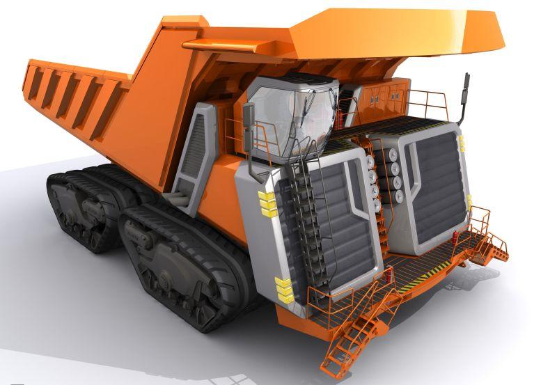 קונספט משאית מכרות HHT560
