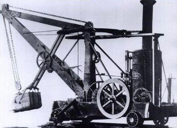 ההשראה לדגם המוקטן; מחפר הקיטור המהפכני של אוטיס יוצר במשך למעלה מ-60 שנה, כמעט ללא שינויים