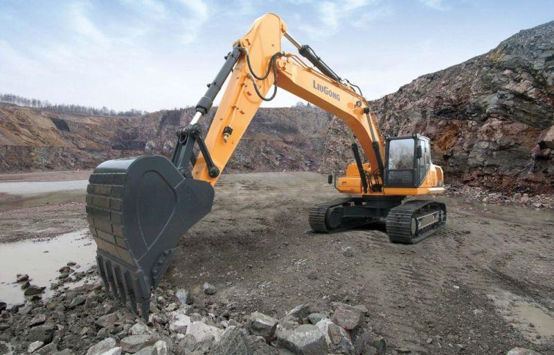 מחפר LiuGong 930E