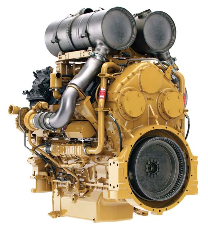 """מעמיס אופני קטרפילר 990K מצוייד במנוע Cat C27 ACERT המציע כאן 699 כ""""ס"""