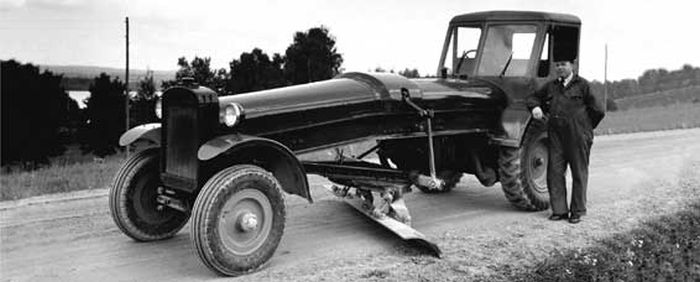 מפלסת Munktell C1 מ-1940